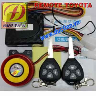 remote chong trom xe may toyota